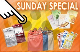 Sunday special Discount