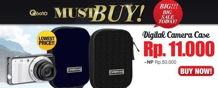 Digital Camera Case Murah Meriah!