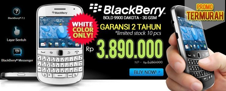 [LOWEST PRICE] BB BOLD 9900 DAKOTA