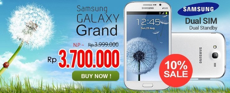Galaxy Grand White-8GB