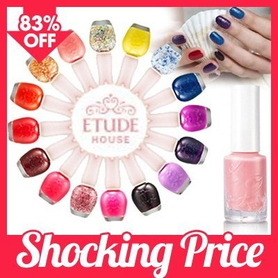[Etude House]♣Dear my party nails / Dear my neon pap nails / Look at my Cotton Candy nails / Nail Collection