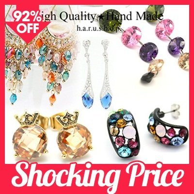 ★Luxury earring★☆High Quality★hand made☆♥lovely earring♥★