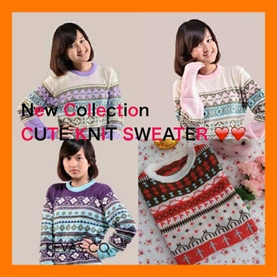 ★All flat Price★ NEW FASHION ITEMS *** SUPER CUTE SWEATER