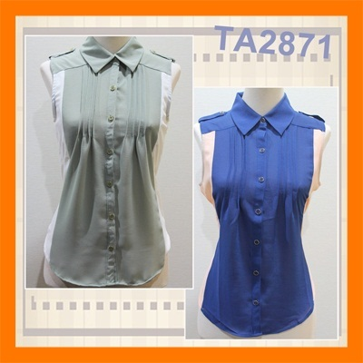 Blouse Chiffon | Sheer | Fashionable | Cheap | High Quality