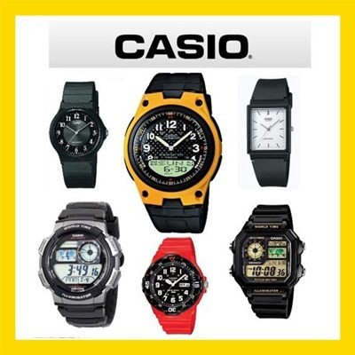 [CASIO]NEW ITEM - ORIGINAL RESIN CASIO WATCH UNISEX COLLECTION