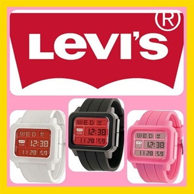 LEVIS ORIGINAL_LTI01 SERIES_UNISEX_100% AUTHENTIC_GUARANTEE_DIGITAL_TRENDY WATCH