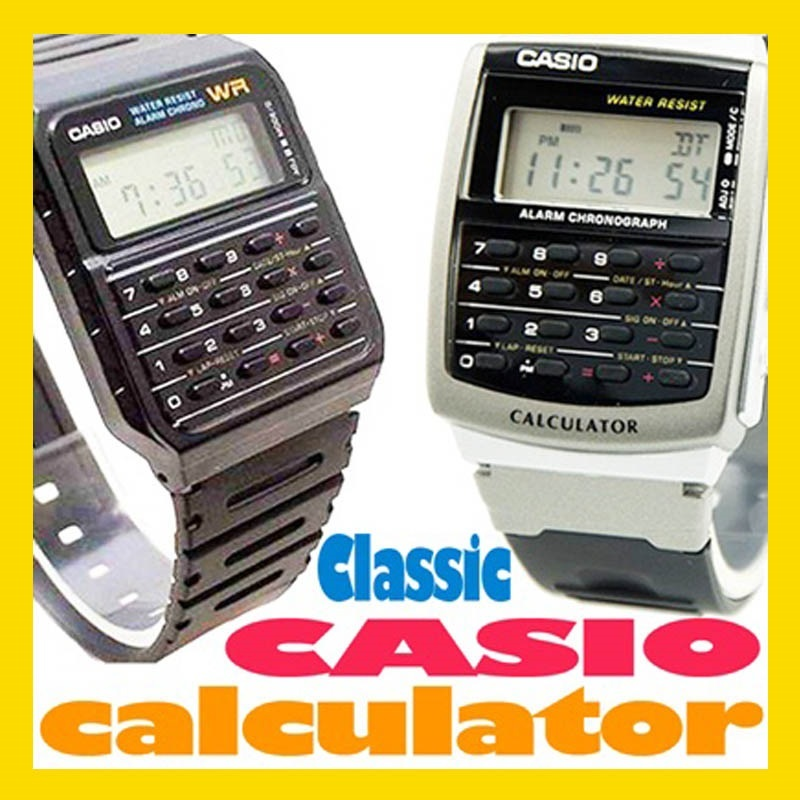 Vintage Watch Casio Calculator CA 53 and CA 56 - Retro Style Watch - Jam Tangan Casio Klasik [[ FREE SHIPPING JABODETABEK ]]