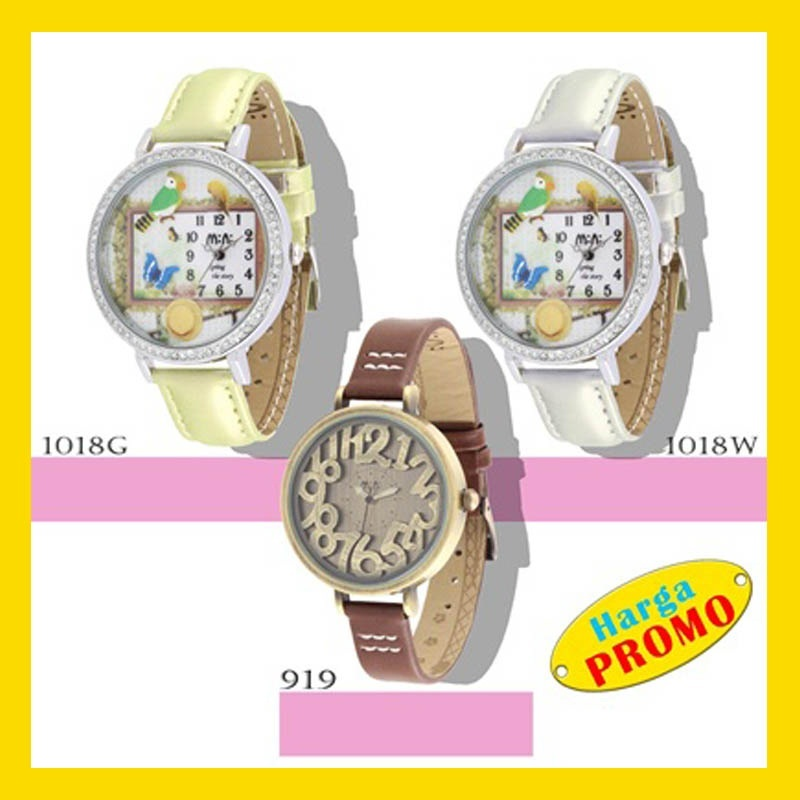Jam Tangan ✿ Fashion Korean 3D MINI WATCH ✿ [Miniatur Watch] ✿