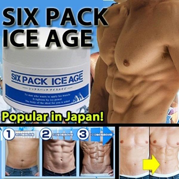 RESTOCKED! Hot Japan Six Pack Ice Age Gel☆ DIET SUPPORT MASSAGE GEL FOR BODIES! Volume up 200g version!