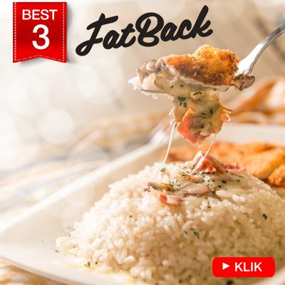 FATBACK Restaurant - Paket Makan Berdua