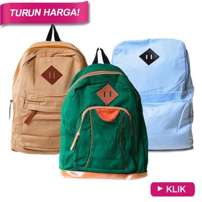 Turun Harga_Unisex Backpack