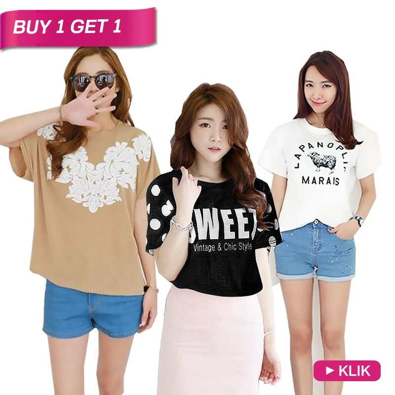 Korea Good Quality T-shirts / available 20 Styles
