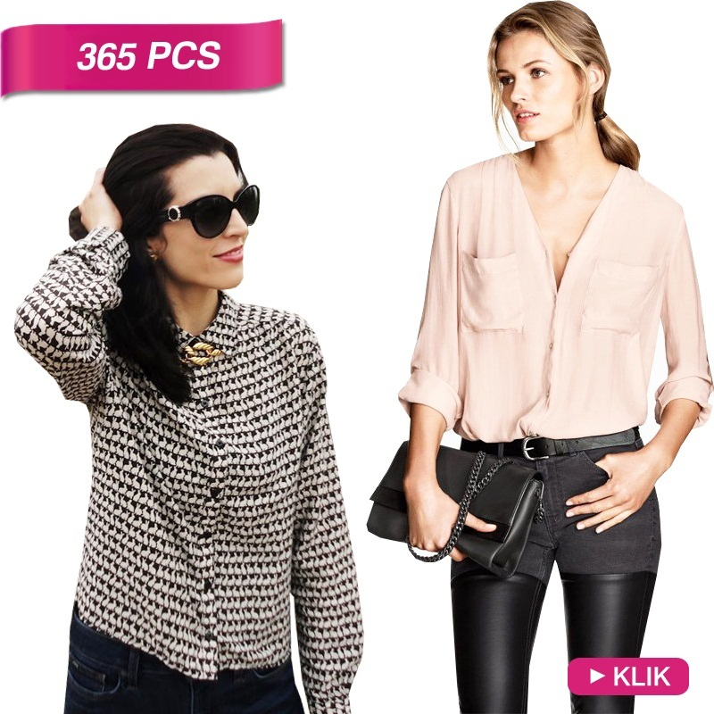 NEW UPDATE! BRANDED BLOUSE AVAIL IN 3 STYLE! HIGH QUALITY MATERIAL AND PRODUCT!