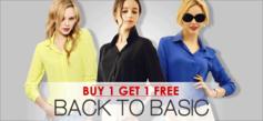 Back To Basic! 1+1 Promo!