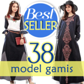 [NEW UPDATE BEST SELLER]KOLEKSI GAMIS MAXI DRESS SET HIJAB SYARI MEWAH by Beryl Diva!! GRATIS JILBAB BLAZER DLL!!