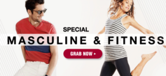 Special Masculine & Fitness Sale!