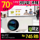 led mini proyektor GLITZ uc30