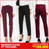NEW ARRIVAL!Banana Rep Sloan Fit Trousers_Premium Quality_100% Authentic_2Colors_Basic Trousers_Basic Pants / Celana Panjang / Celana wanita