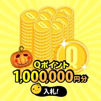 Q-Point100万円分!