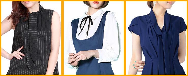 胸元もきれいに着飾るボウタイ、今年流行の予感!