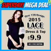 【LACE SPECIAL SALE】2015 Hot Lace DressTopsJacketPants Over 150 DesignLowest Price High Quality Buy 3 Free Shipping