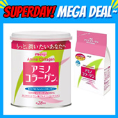 LOWEST PRICE★BUY 2 FREE SHIPPING★Meiji Amino Collagen Powder Regular Can/Refill Pack!! Directly shipped from Japan!!
