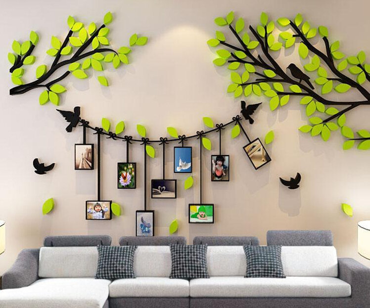 3d Acrylic Diy Wall Stickers Wedding Decorations Wall Decal