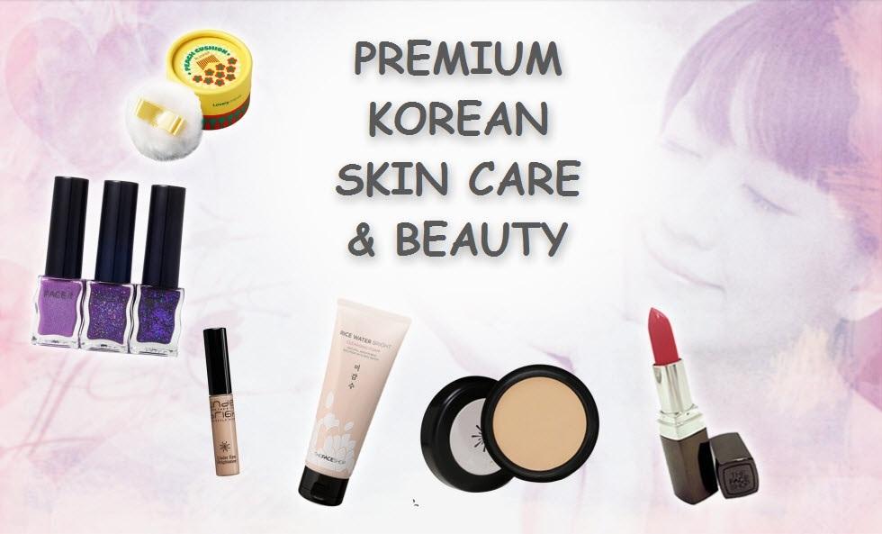 PREMIUM KOREAN SKIN CARE AND BEAUTY