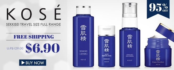 95% OFF Today! Kose Skincare Travel Size Kit