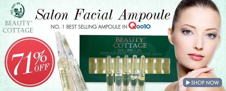 Beauty Cottage Facial Ampoule