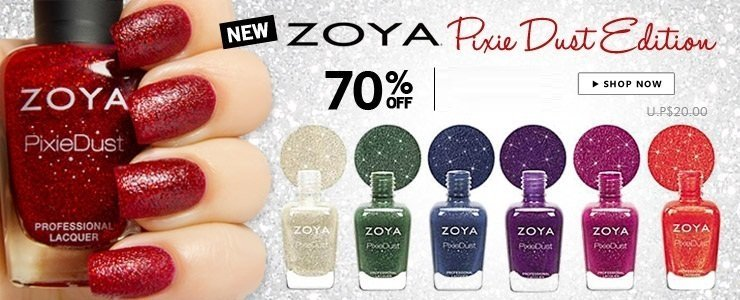 Zoya Pixie Dust New Edition Nail Lacquer