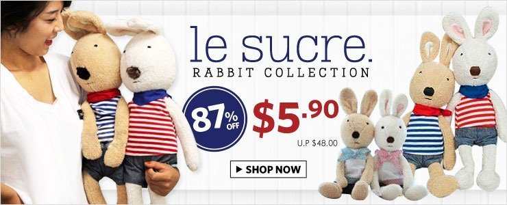 Le Sucre Rabbit Collection!
