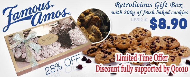 Famous Amos, Retrolicious Gift Box