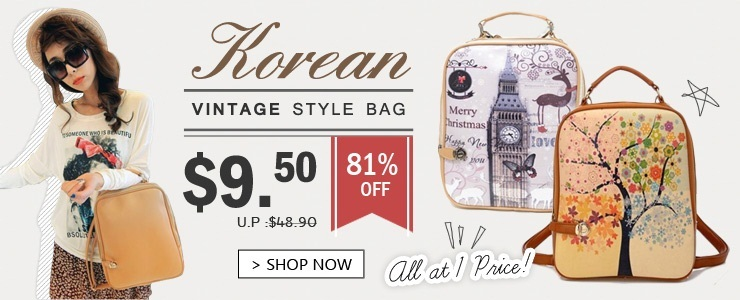 Hot-selling Korean Vintage Style Bags! Flat price!
