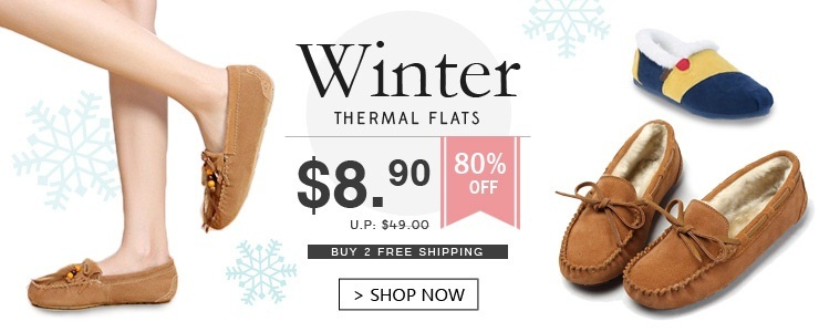 Unisex Winter Thermal Flats! Buy 2 Free Ship!