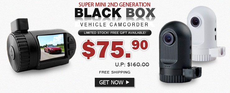 MINI FHD1080P DVR Car Black Box Camcorder
