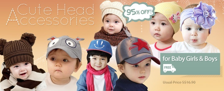 Cute Head Accessories for Baby Girls & Boys