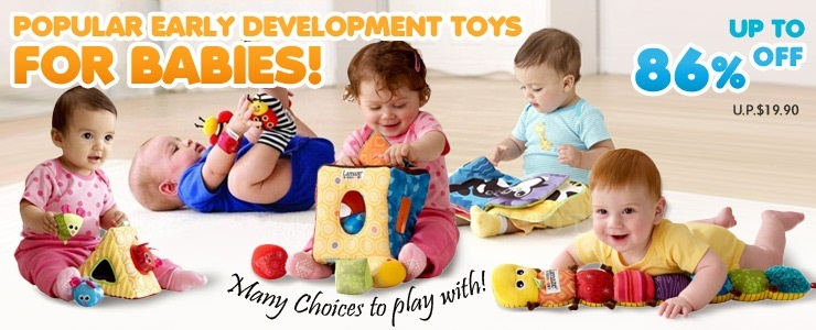 Popular Early Development Toys for Babies