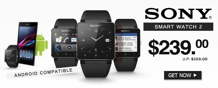 Sony SmartWatch 2 Android Watch