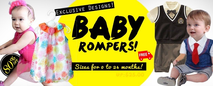 Rompers Exclusive Designs!