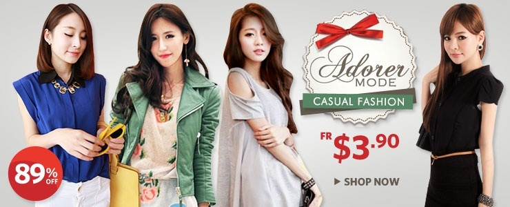 [Adorer Mode] Hot-selling Casual Fashion