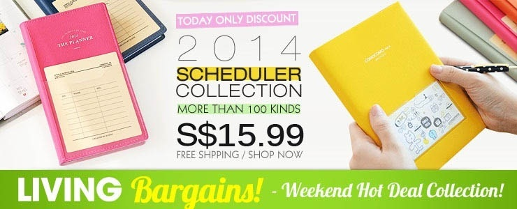 [Living Bargains!] 2014 New Diary / Planner Collection!