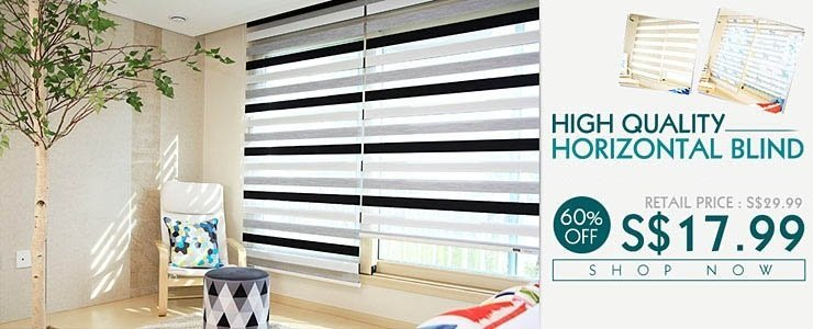 HORIZONTAL BLIND - FREE SHPPING NOW