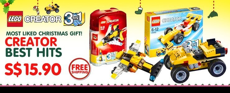 [TOY SALE] All LEGO CREATOR Series ON BIG DISCOUNT!