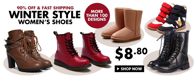 Best-Selling Winter boots/Women boots/British Style Shoes