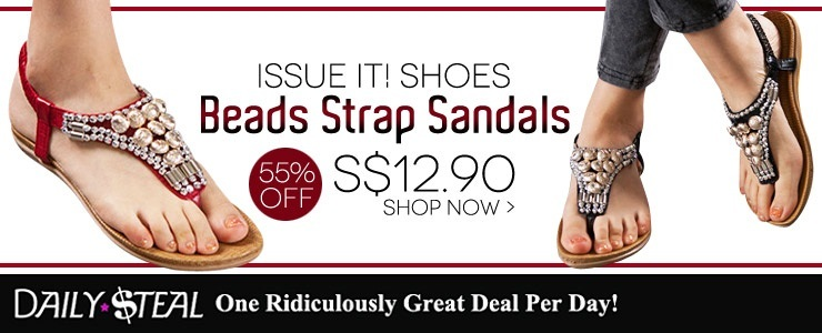 [ISSUE IT! SHOES] Beas Strap Sandal fr $12.9~