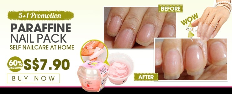 Get The Look - [5+1 Promotion] [Paraffine Nail pack] Self nailcare