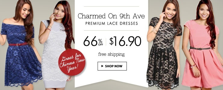 All At 1 Price! Premium Lace & Prints Dresses! Free Shipping!