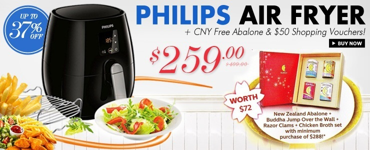 Philips Air Fryer CNY Promotion