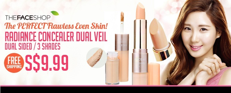 [THE FACE SHOP] Dual Concealer = The Perfect Flawless Skin